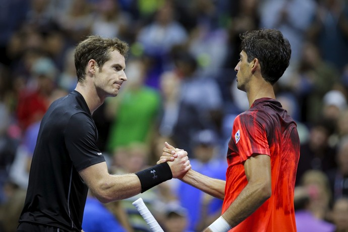 Andy Murray, Thomaz Bellucci, US Open (Foto: Reuters)