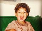 Caio Castro posta foto da infância e ganha elogio das fãs da internet