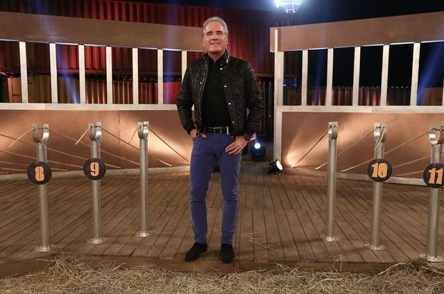 Roberto Justus em 'A fazenda' (Foto: Reprodução)