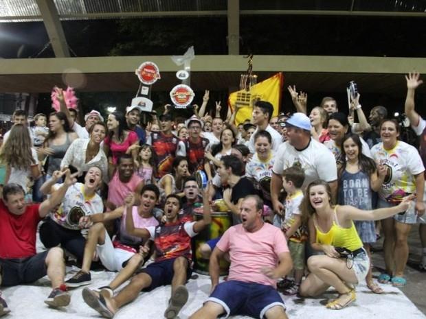 Império Guerreiro venceu pela segunda vez seguida (Foto: Adriana Salete Onetta/Divulgação)
