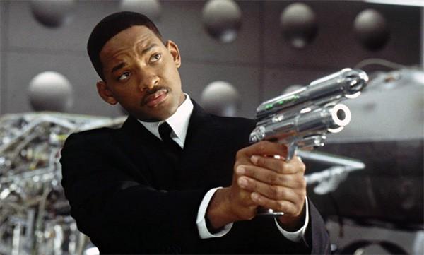 Will Smith no filme 'MIB - Homens de Preto' (Foto: Reprodução)