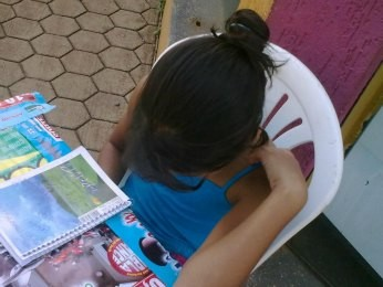 Fiscais flagraram crianças trabalhando com vendas (Foto: Bruno Borges/Superintendência do Trabalho/Divulgação)