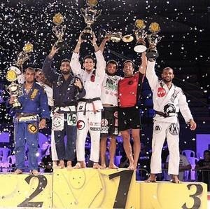 Erberth Santos fica em terceiro lugar no GP de Pesos Pesados da Copa Pódio (Foto: Divulgação)