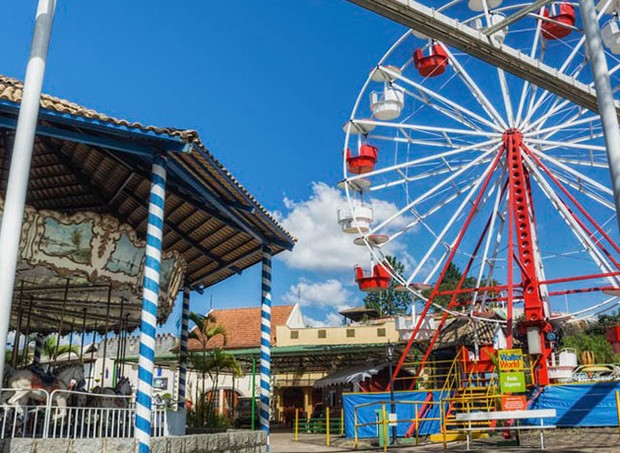 Parque de diversão resort Walter World (Foto: Divulgação)
