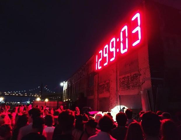 Clock Trump: o relógio que conta as horas para o fim do mandato do presidente dos EUA (Foto: reprodução)