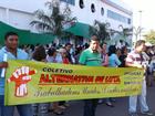 Por recomposição salarial, servidores protestam em Várzea Grande (MT)