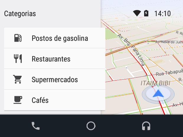 Google Maps está liberado, mas Waze ainda não (Foto: Divulgação)