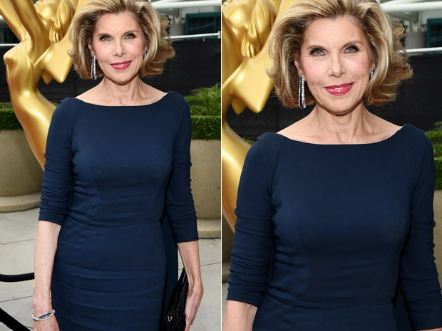 [620] Christine Baranski no Emmy Awards 2014 (Foto: Getty Images)