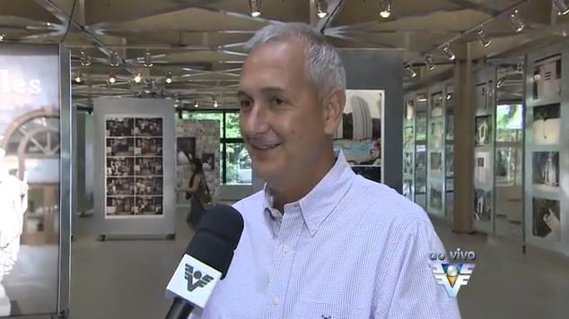 Gerente do Sesc Santos, Neto Figueiredo (Foto: Reprodução/TV Tribuna)