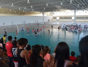 Handebol da Paraíba é campeão em cima do Distrito Federal (Foto: Hévilla Wanderley / GloboEsporte.com/pb)