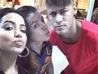 David Brazil ganha festa de Neymar e famosos comparecem