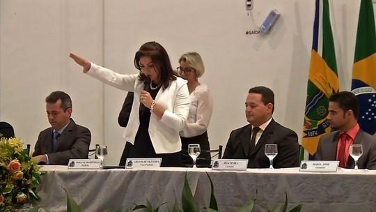 Rosana Martinelli é empossada como prefeita de Sinop (MT)