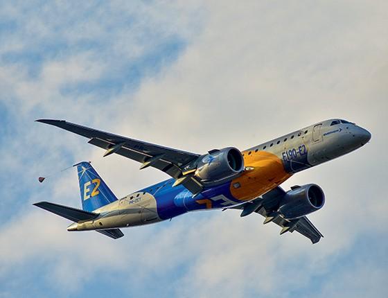 Avião  (Foto: Lucas Lacaz Ruiz/Futura Press)