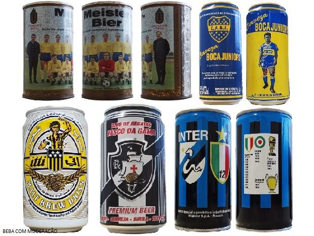 cervejeiros_coleçãolatas 4 (Foto: Arquivo Pessoal)