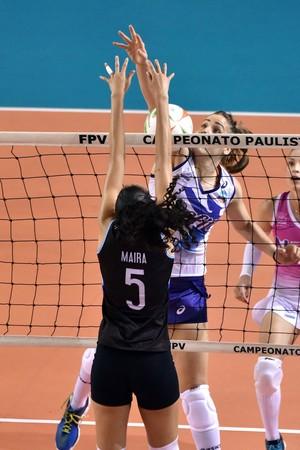 Pinheiros e Osasco - primeira partida da final do estadual (Foto: João Pires/Fotojump)