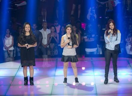 Sucesso de Rihanna marca batalha de Júlia Tavares, Lawany Ferreira e Sabrina Meireles