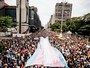 Parada Gay se concentra em shows no Centro de SP (Dario Oliveira/Código19/Estadão Conteúdo)