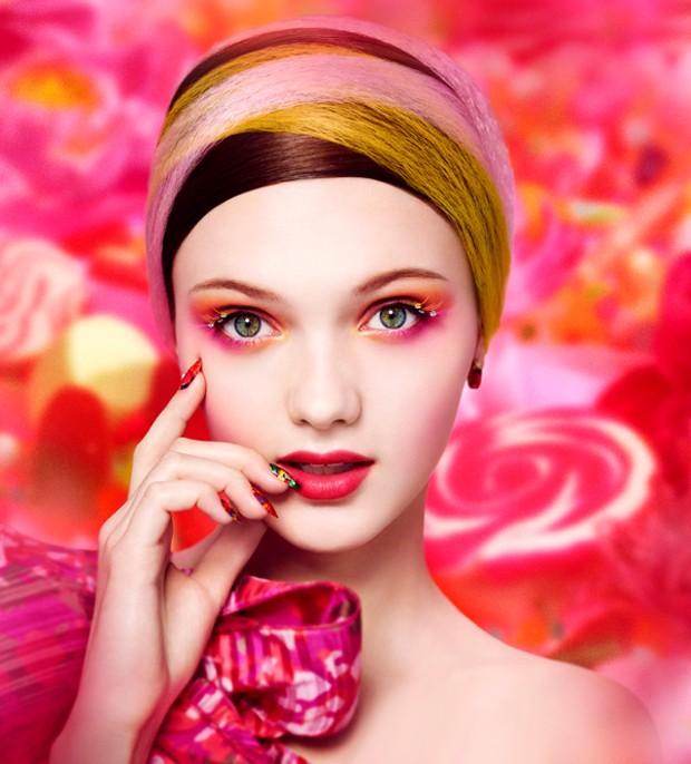 Beleza de primavera: a nova coleção de Mika Ninagawa para Shu Uemura