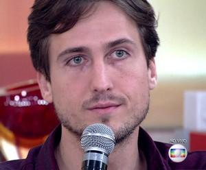 Igor relembra bullying (Foto: TV Globo)