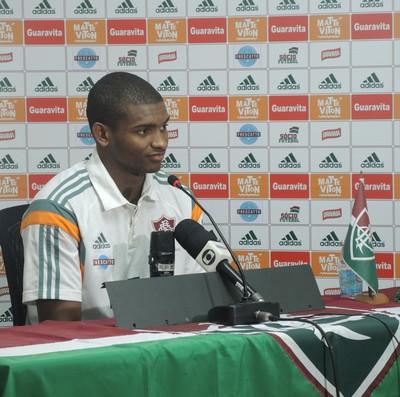 Marlon Coletiva Fluminense (Foto: Igor Rodrigues)