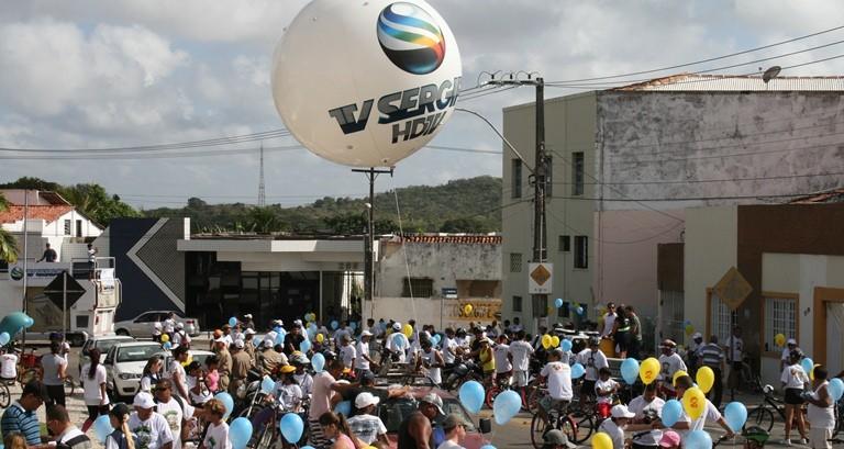 Passeio Ciclístico (Foto: TV Sergipe )