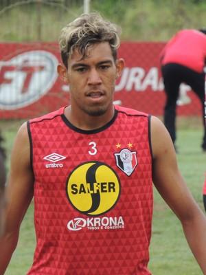 Rodrigo Paraíba Joinville meia (Foto: João Lucas Cardoso)
