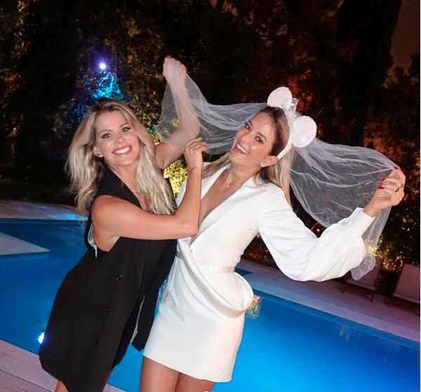 Karina Bacchi e Tici Pinheiro (Foto: Reprodução)