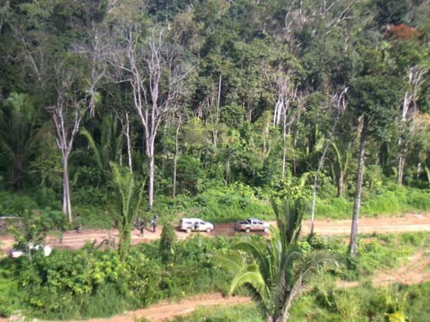 MPF pede que pistas de pouso e decolagem de terra indígena do Baú, no sudoeste do Pará, e outras nove pistas sejam regularizadas. (Foto: Divulgação/Ibama)