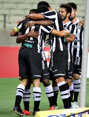 Ceará x Salgueiro comemoração Arena Castelão Copa do Nordeste (Foto: Christian Alekson/CearaSC.com)