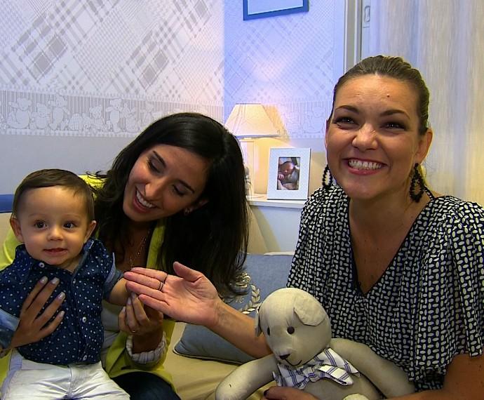 Alice Bastos Neves Mistura com Rodaika Martin (Foto: Reprodução/RBS TV)