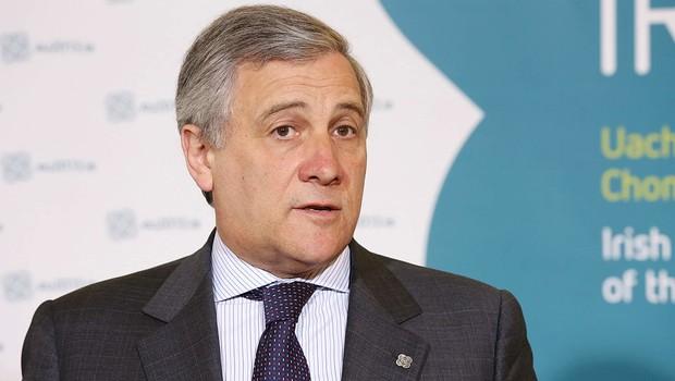 Italiano antonio tajani eleito presidente do parlamento for Concorsi parlamento italiano 2017