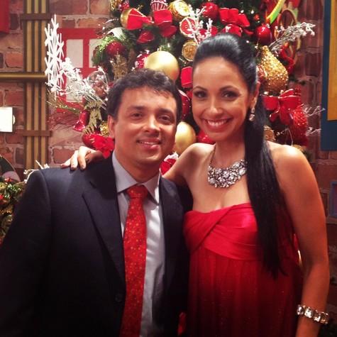 Rodrigo Fagundes e Dig Dutra (Foto: Divulgação)