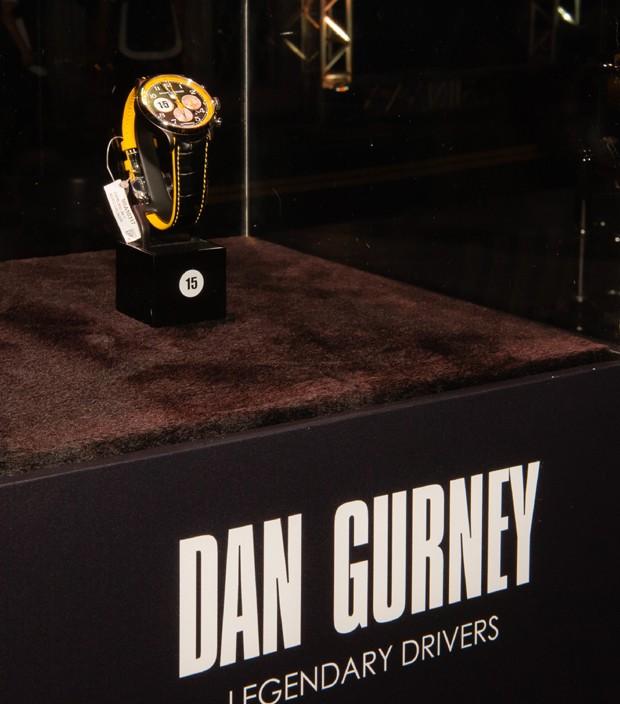Relógio criado em homenagem a Dan Gurney (Foto: Divulgação)