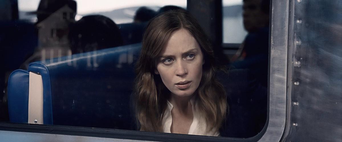 Emily Blunt no filme de A Garota do Trem (Foto: Divulgação)
