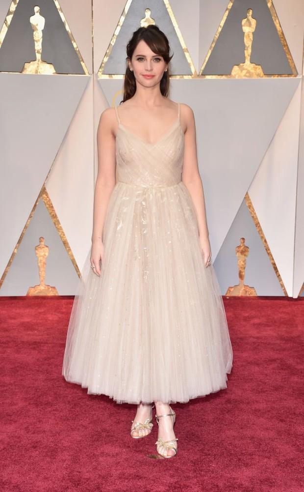 Felicity Jones no Oscar 2017 (Foto: Getty Images)