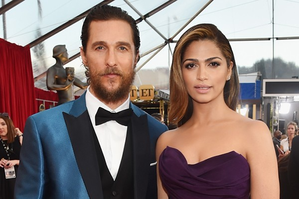 Matthew McConaughey e Camila Alves (Foto: Getty Images)