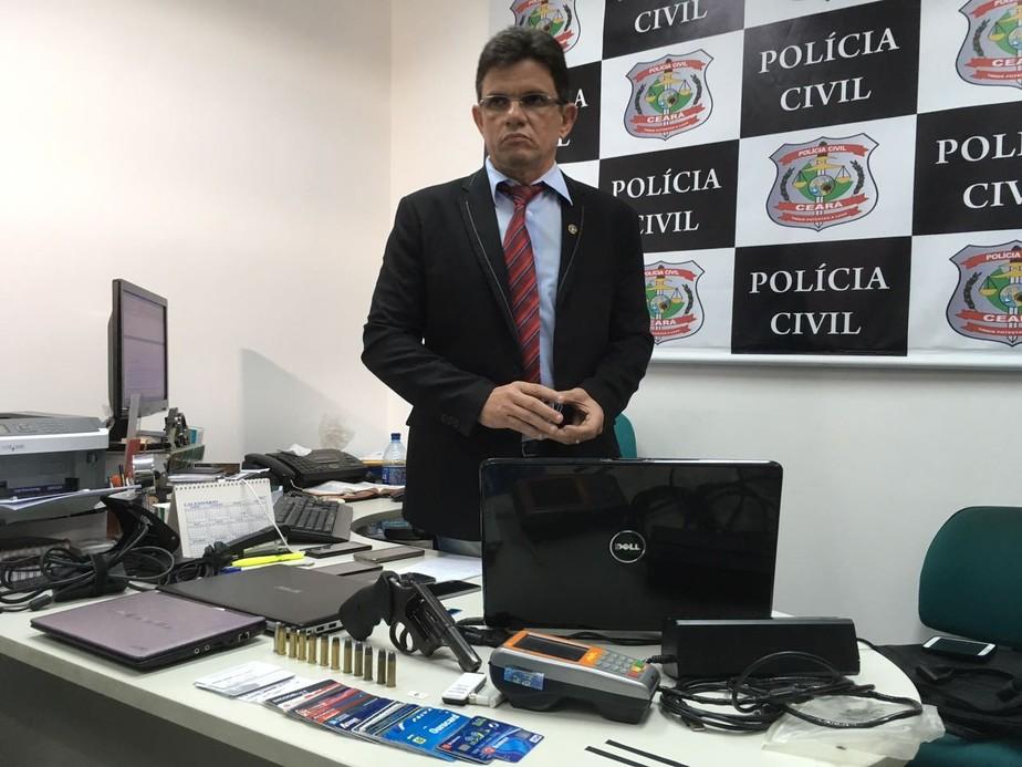Polícia prende quadrilha que clonava cartões e placas de carro em Fortaleza