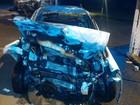 Acidente entre carros mata rapaz e deixa outros três feridos no Paraná