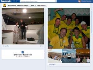Norte aparece com a camisa da seleção brasileira  (Foto: Reprodução/Facebook)