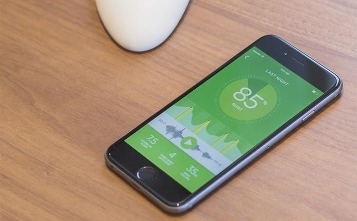 App para iPhone fornece relatórios sobre qualidade do sono (Foto: Divulgação/Smart Nora)