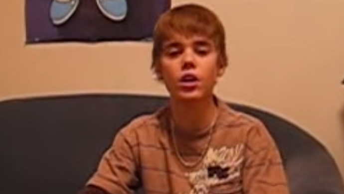 Justin Bieber - 2008 (Foto: Reprodução)