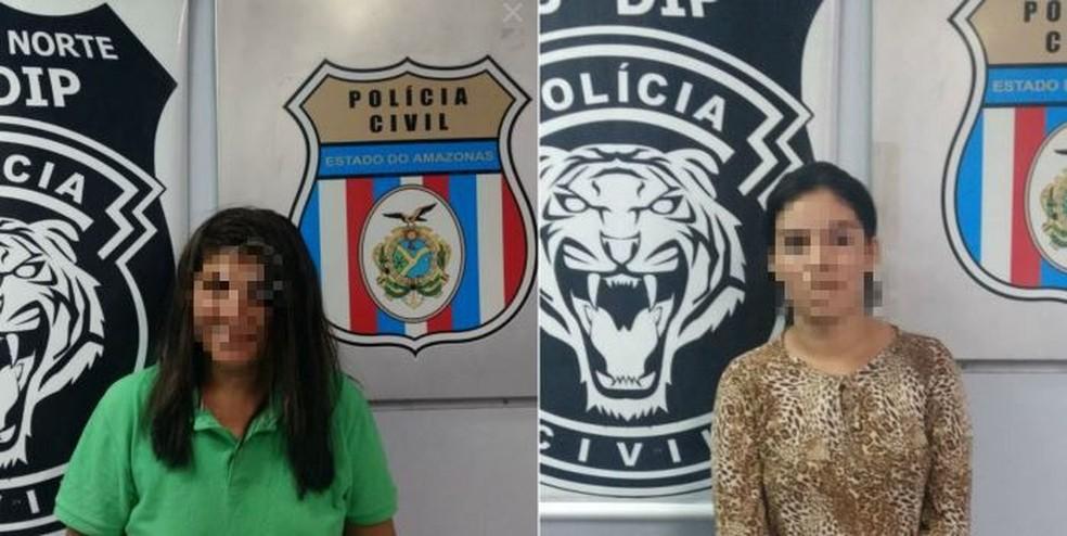 Mãe e filha foram presas  (Foto: Divulgação/Polícia Civil)