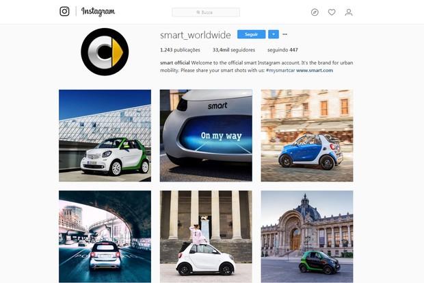 smart antecipa conceito para o Salão de Frankfurt, na Alemanha (Foto: Reprodução / Instagram)