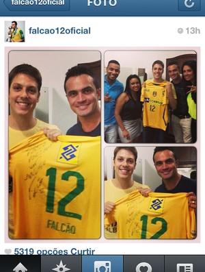 Falcão, ala do Orlândia e seleção brasileira (Foto: Divulgação/Arquivo pessoal)
