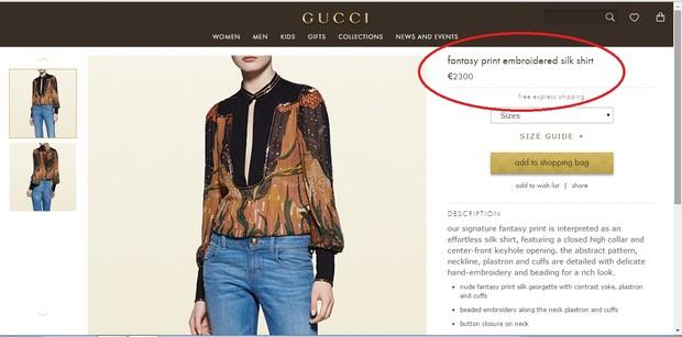 Grazi Massafera usa blusa Gucci de R$ 7,8 mil (Foto: Reprodução do Instagram)