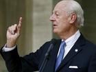 Oposição síria desiste de reunião com enviado da ONU