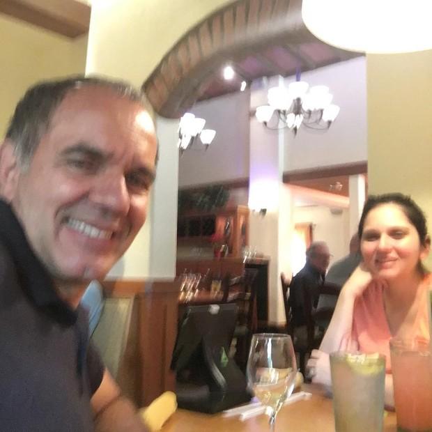 Humberto Martins e a filha, Thamires, mãe de Sophia (Foto: Reprodução/Instagram)