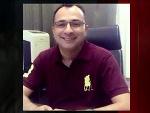 Jornalista Mateus Júnior (Foto: reprodução GloboNews)