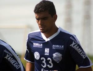 Rafael Tavares, zagueiro Comercial-SP (Foto: Cleber Akamine / Globoesporte.com)