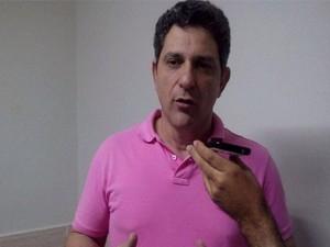 Rogério Carvalho fala sobre os planos do PT (Foto: Flávio Antunes/G1)